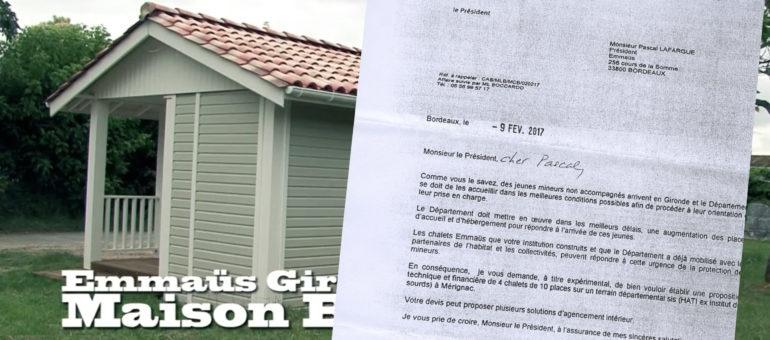 Le département de la Gironde pris dans la tourmente Emmaüs