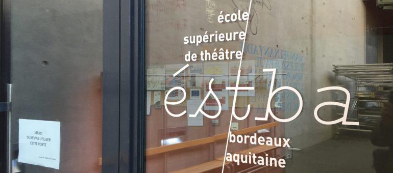 L'Estba, une école qui cultive «l'esprit du théâtre dans un théâtre»