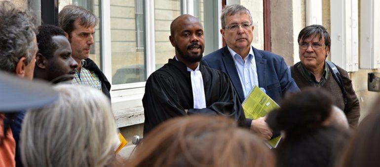 Les demandeurs d'asile expulsés du squat de l'Ascenseur enjoignent l'État de les reloger
