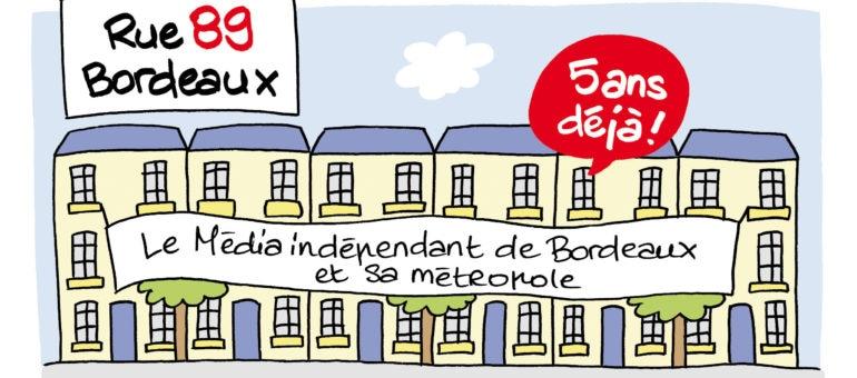 Portrait de Rue89 Bordeaux par la dessinatrice Cami, et vice-versa