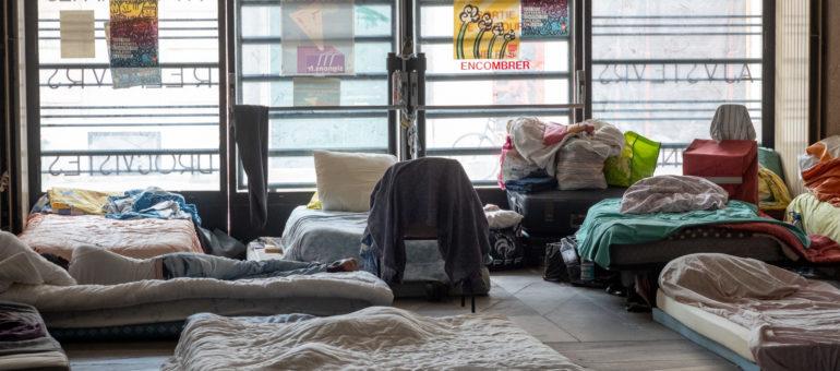 Crise des expulsions : un hébergement proposé à tous les occupants de la Bourse du travail