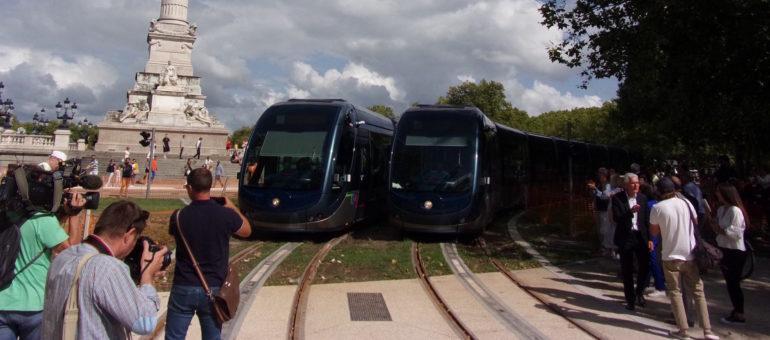 Premiers essais pour un tram D très attendu au tournant