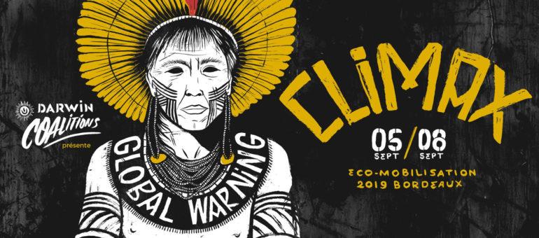 Du 5 au 8 septembre : l'Amazonie au cœur du festival Climax à Bordeaux