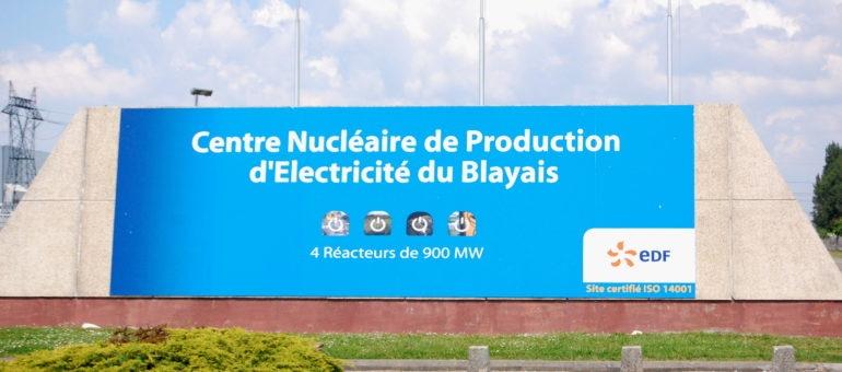 Un dysfonctionnement à l'origine d'une fuite à la centrale nucléaire du Blayais