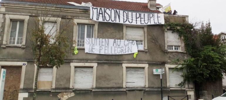 Gilets jaunes : «La maison du peuple» aussitôt ouverte, aussitôt évacuée