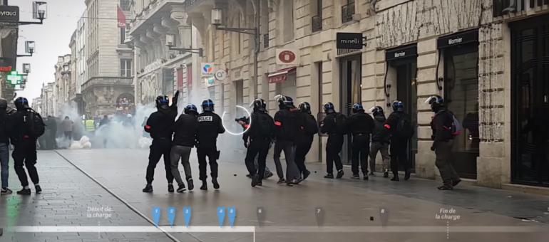 Gilets jaunes : une enquête du Monde confirme une violence policière à Bordeaux