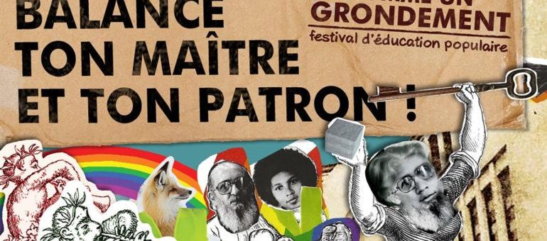 Du 4 au 12 octobre : Festival «Comme un grondement»