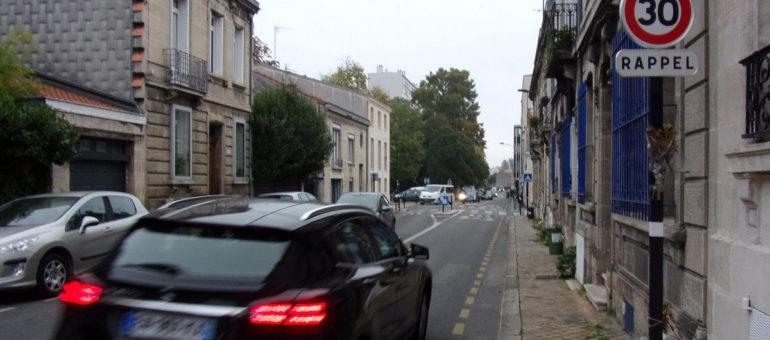 Ces zones 30 où on lève peu le pied dans la métropole bordelaise
