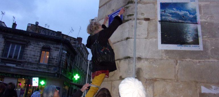 La Cimade rebaptise des rues bordelaises de noms d'étrangers qui ont fait la France
