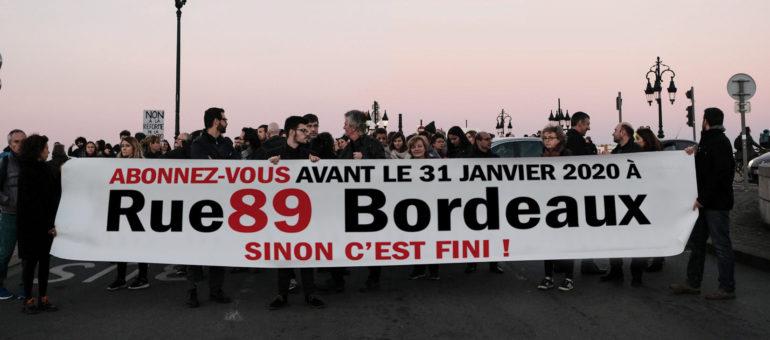 A 51 jours de l'échéance, il manque 616 abonnés à Rue89 Bordeaux pour continuer