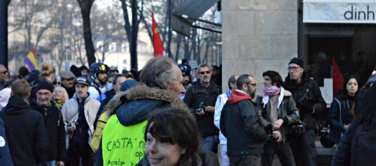 A Bordeaux, une forte mobilisation «dépasse le cadre d'un combat corporatiste»