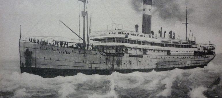 Les 568 naufragés oubliés du paquebot «Afrique», parti de Bordeaux il y a un siècle