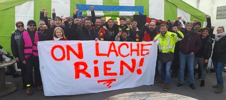 Les «énergéticiens» revendiquent des coupures de gaz et bloquent le dépôt d'Enedis GRDF à Floirac
