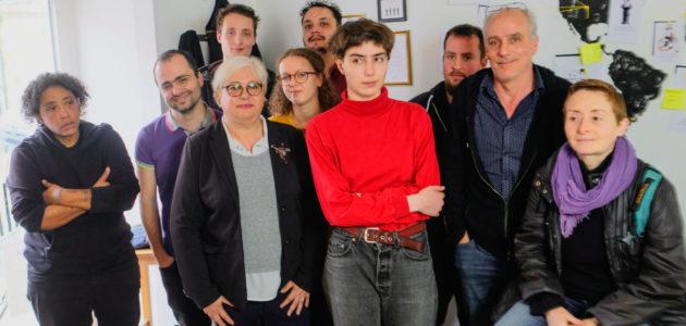 Philippe Poutou présente la jeune avant-garde de Bordeaux en luttes