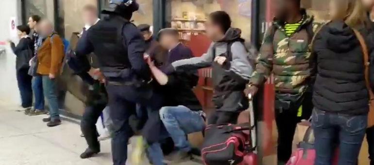 L'homme interpellé violemment par la police à Belcier a été libéré, l'IGPN saisie