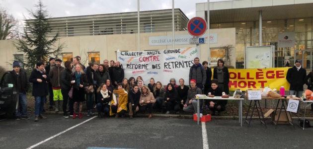 L'opération «collège mort» très suivie en Gironde