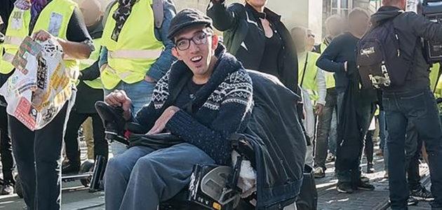 Alexandre Ribeiro, handicapé physique, brigue le fauteuil de maire à Cenon