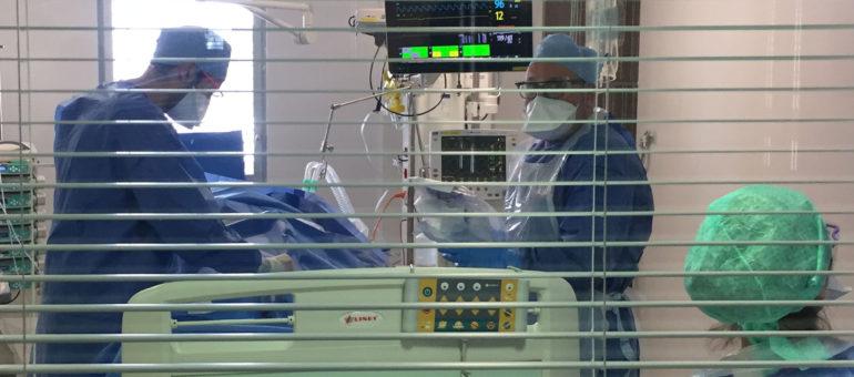 De nouveaux patients arrivés à Bordeaux par les «trains de la solidarité»