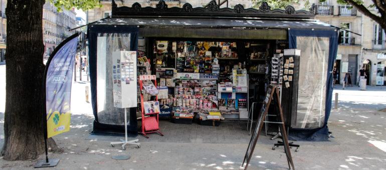 Derrière les kiosques bordelais, toute la distribution de la presse déprimée