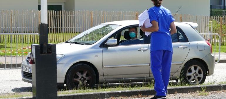 Covid-19 : l'hôpital de Bordeaux ouvre trois drives de dépistage au grand public