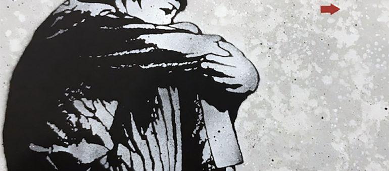 Des œuvres de street art en vente au profit d'étudiants précaires à Bordeaux