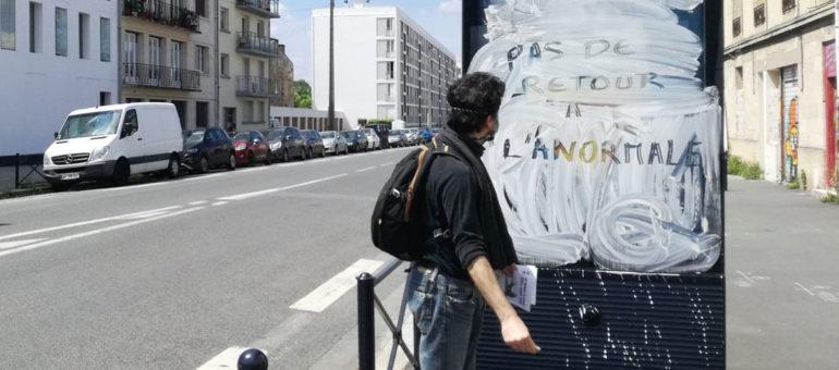 «Revoilà» Extinction Rebellion pour une action anti-pub