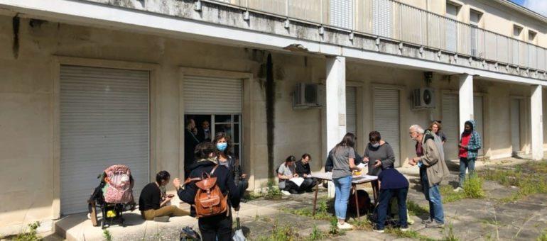 Un nouveau squat pour familles et femmes seules ouvert à Gradignan