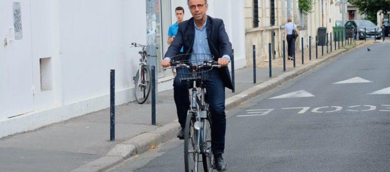 Pierre Hurmic veut d'abord «rééquilibrer la place de la voiture» à Bordeaux