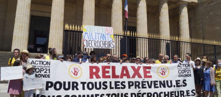 Procès en appel des Décrocheurs : «On ne nous juge pas pour vol mais pour notre action politique»