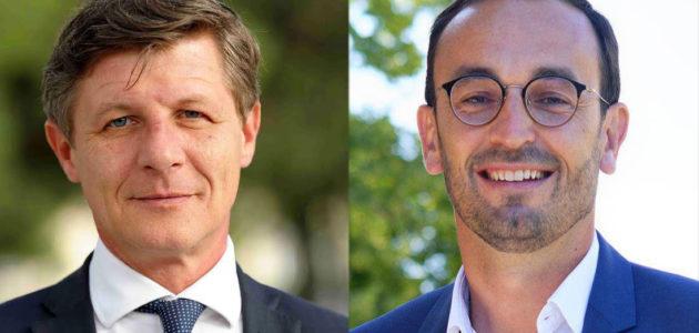 Florian et Cazenave s'allient pour le second tour des municipales à Bordeaux