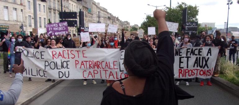 «Pas de justice, pas de paix» : plus d'un millier de Bordelais marchent contre le racisme