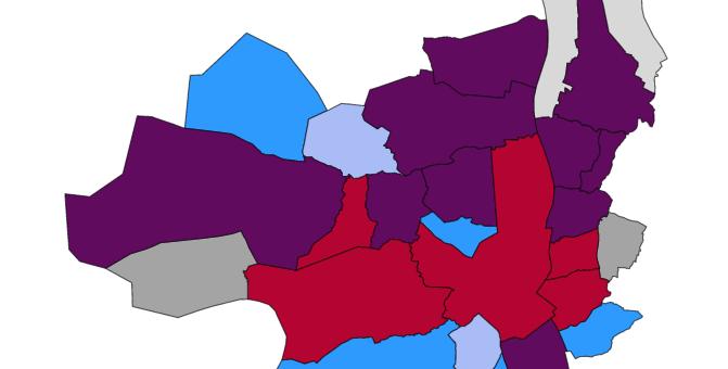 La vague rose-verte et ses nouveaux maires emportent  Bordeaux Métropole