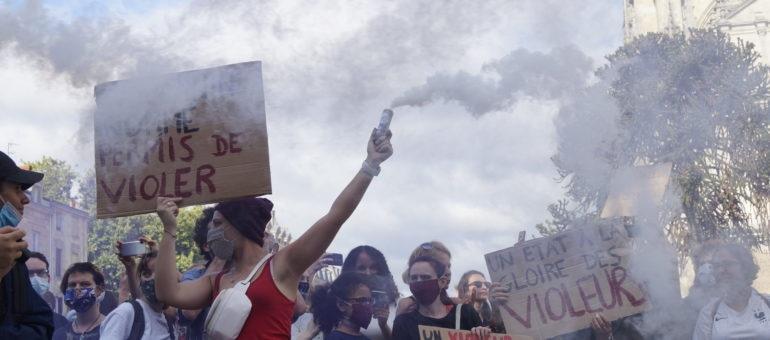 Manifestation à Bordeaux contre «le ministère du viol»