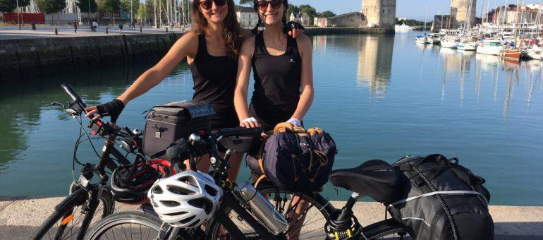 Amandine et Lucie vont pédaler 500 bornes en 5 jours au profit des sans-abri