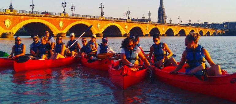 Kayak, running, vélo : visitez Bordeaux à fond et en forme