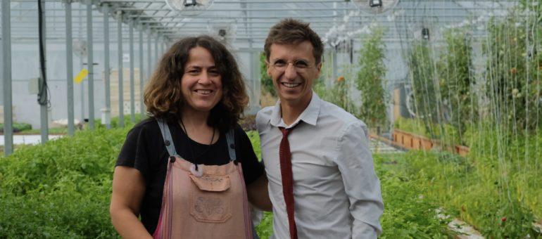 Pauline, la ferme urbaine qui  ne manque pas d'air à Lormont