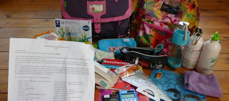 Rentrée scolaire : mettez les fournitures à la page écolo