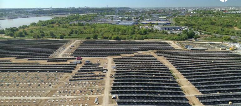 Bordeaux se dote de la plus grande centrale solaire urbaine d'Europe