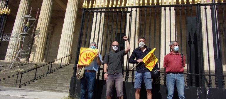 Condamnés en appel, les décrocheurs de Macron ne raccrochent pas