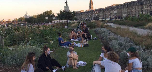 La consommation d'alcool interdite dans le centre, les parcs et les quais de Bordeaux