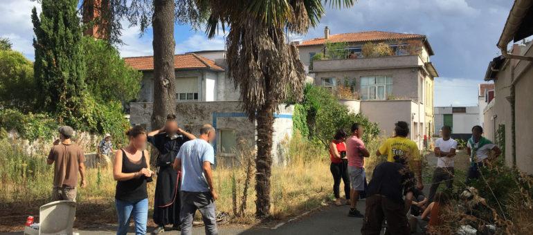 Un nouveau squat ouvert à Bordeaux pour «soulager les autres lieux saturés»