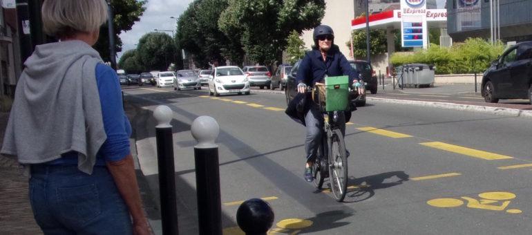 Bordeaux tire un bilan «positif» des couloirs bus-vélos sur les boulevards