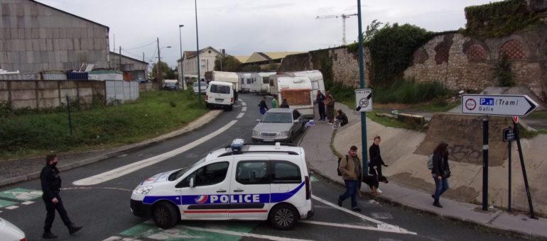 Le bidonville de la rue Lajaunie expulsé, des centaines de personnes à la rue à Bordeaux