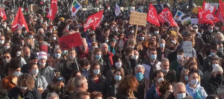 Sécurité globale : une marche pour la démocratie et les libertés ce samedi 16 janvier à Bordeaux