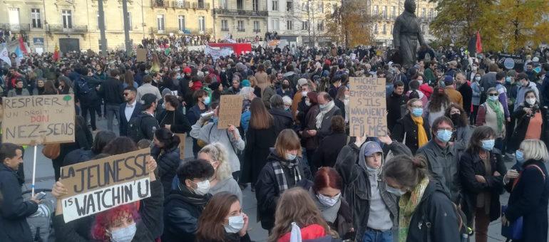Sécurité globale : la Marche des libertés mobilise massivement à Bordeaux