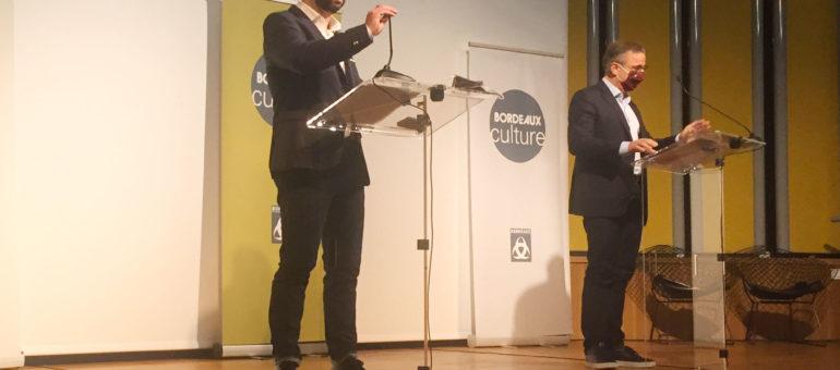 Première couche pour la nouvelle couleur de la politique culturelle à Bordeaux