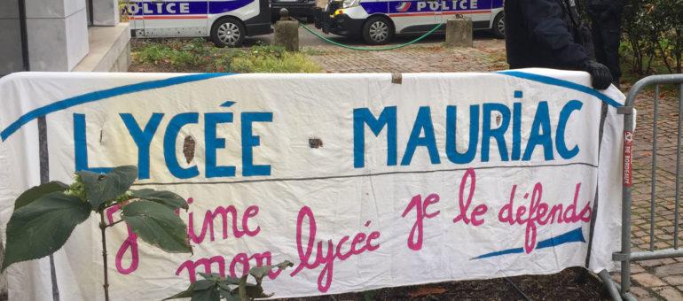 Les enseignants sanctionnés du Lycée François-Mauriac préparent un recours
