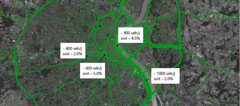 Pollution de l'air : une zone à faible émission créée à Bordeaux d'ici 2023