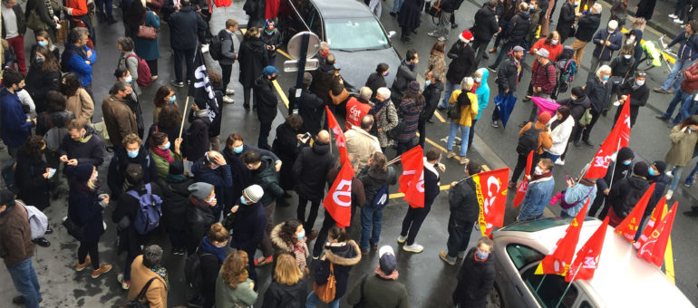 «Oui, la culture est essentielle», disent 500 manifestants et la Ville de Bordeaux