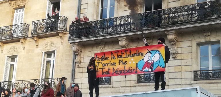 Sécurité globale : la préfète de Gironde exclut d'interdire les manifestations